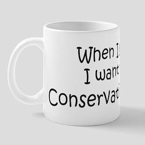 Grow Up Conservation Officer Mug