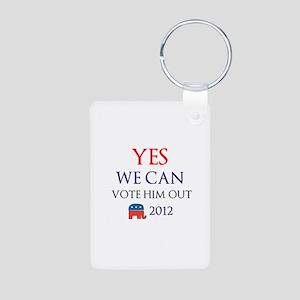 Yes We Can.... Aluminum Photo Keychain