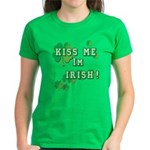 Kiss Me I'm Irish Women's Classic T-Shirt