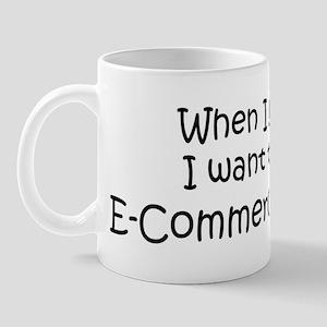 Grow Up E-Commerce Teacher Mug