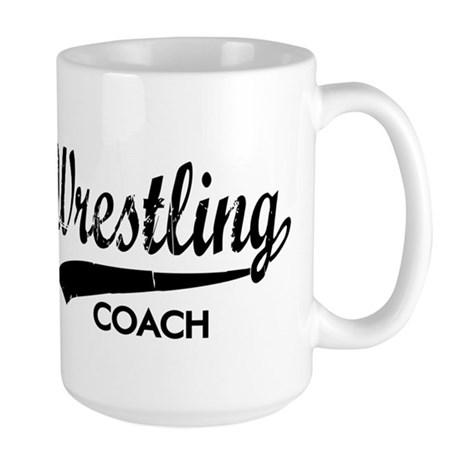 WRESTLING COACH Large Mug