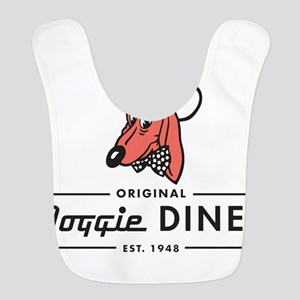 Doggie Diner restaurant logo Polyester Baby Bib