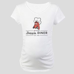 Doggie Diner restaurant logo Maternity T-Shirt