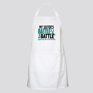 My Battle Too Ovarian Cancer Apron