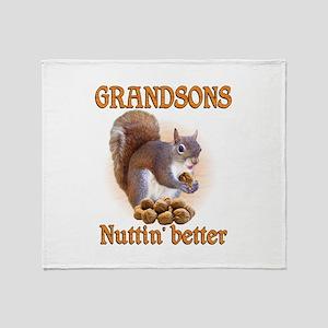 Grandsons Throw Blanket