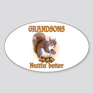 Grandsons Sticker (Oval)