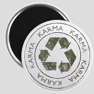 Vintage Karma Magnet