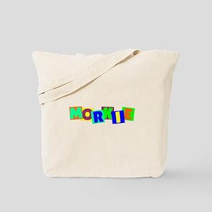 Morkie BLOCKS Tote Bag