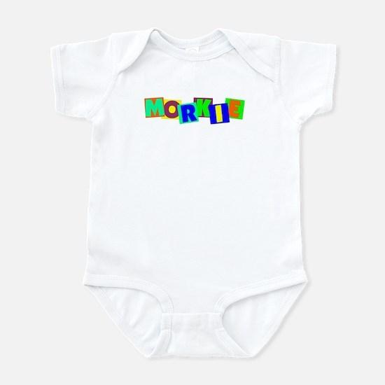 Morkie BLOCKS Infant Bodysuit