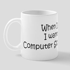Grow Up Computer Science Stud Mug