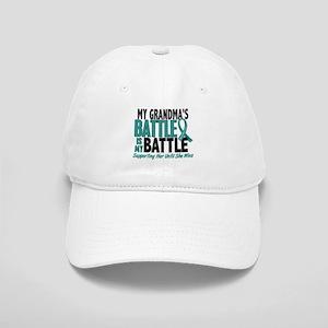 My Battle Too Ovarian Cancer Cap