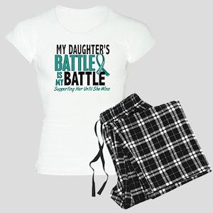 My Battle Too Ovarian Cancer Women's Light Pajamas