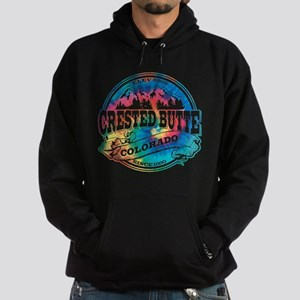 Crested Butte Old Circle Hoodie (dark)
