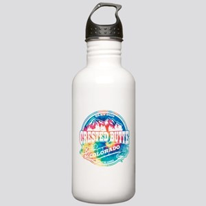 Crested Butte Old Circle Stainless Water Bottle 1.