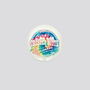 Crested Butte Old Circle Mini Button