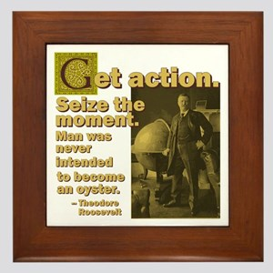 Get Action Framed Tile