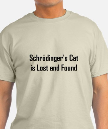 Schrodinger's Cat is Lost & Found T-Shirt