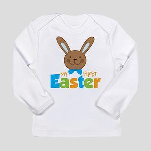 Boy Easter Bunny 1st Easter Long Sleeve Infant T-S
