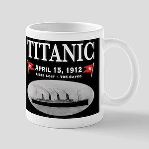Titanic Ghost Ship (black) Mug