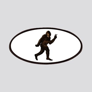 Bigfoot Yeti Sasquatch Peace Patches