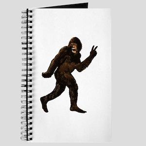 Bigfoot Yeti Sasquatch Peace Journal