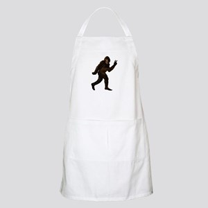 Bigfoot Yeti Sasquatch Peace Apron