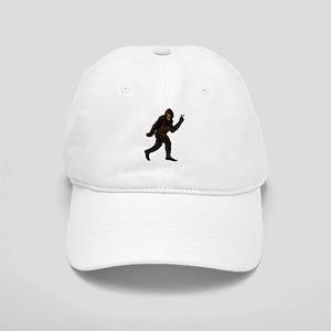 Bigfoot Yeti Sasquatch Peace Cap