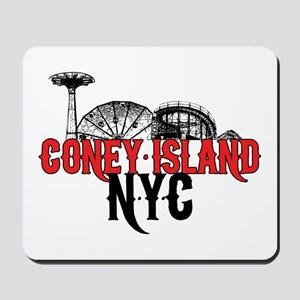 Coney Island NYC Mousepad