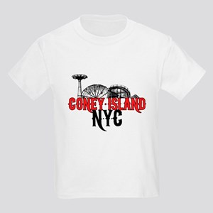 Coney Island NYC Kids Light T-Shirt