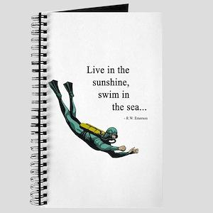 Sea Scuba Diver Journal