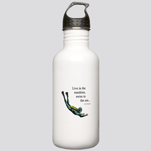Sea Scuba Diver Stainless Water Bottle 1.0L