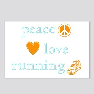 Peace, Love and Running Postcards (Package of 8)