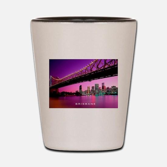 Cute Brisbane Shot Glass
