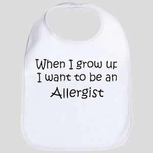 Grow Up Allergist Bib