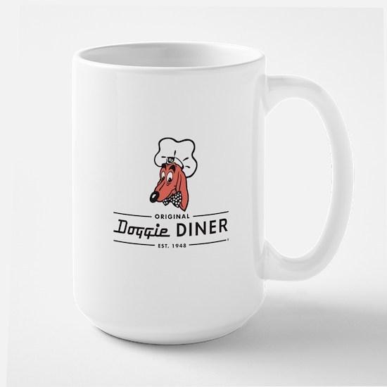 Doggie Diner restaurant logo Mugs