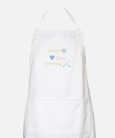 Peace, Love and Rowing Apron