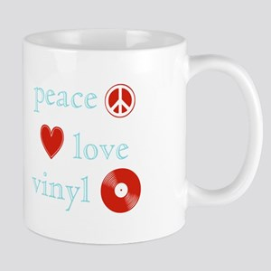 Peace, Love and Vinyl Mug