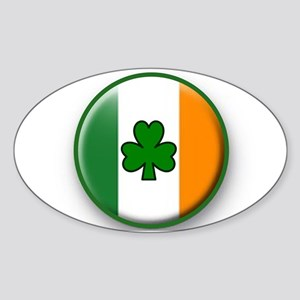 IRISH IS BEST Sticker (Oval)