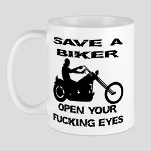 Save A Biker Mug