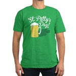 St. Patty's Day Beer Fitted T-Shirt