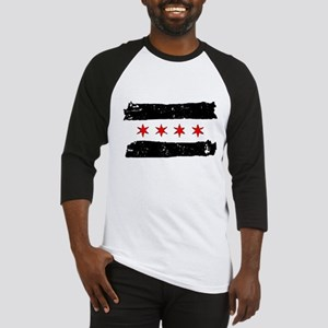 Flag of Chicago Made Baseball Jersey