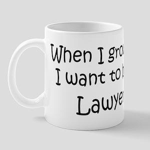 Grow Up Lawyer Mug