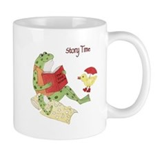 Frogs Reading - Story Time Mug