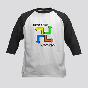 Geocache Kentucky Kids Baseball Jersey