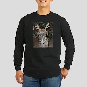 Jamie Christmas Long Sleeve Dark T-Shirt