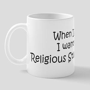 Grow Up Religious Studies Stu Mug