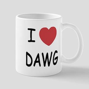 I heart dawg Mug