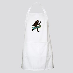 Bigfoot Yeti Sasquatch Wassup Apron