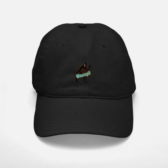 Bigfoot Yeti Sasquatch Wassup Baseball Hat