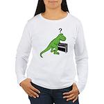 Dino Piano Women's Long Sleeve T-Shirt